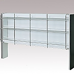[Discontinued]Reagent Shelf Steel Type, Single-Sided Type, with Jungle 1180 x 325 x 1100 and others