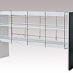 [Discontinued]Reagent Shelf Steel Type, Double-Sided Type, with Jungle 1780 x 590 x 1100 and others