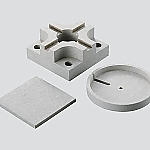 Nonasbestos Heat Insulating Plate (15) 400 x 600 x 5 and others