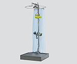 緊急用シャワー・洗眼器 ブース 1000×1000×2595mm 801FS