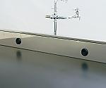 流し台バックガードグロメット加工 中央実験台用 一式セット(グロメット2セット+加工費)