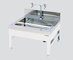 ピペット洗浄器用ステンレス流し台 低床型 600×600×400mm DSA-6640