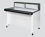 Push-Pull Workbench with Exhaust Function with Exhaust Part Activated Charcoal 1500 x 750 x 1050 and others