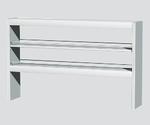 中央実験台用スチール試薬棚 スチール・オープン・両面型 ESTWシリーズ等