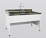 Steel Sink Steel, Depth 750, Single Tank Sink Type 1200 x 750 x 800 and others