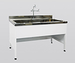 Steel Sink Steel, Depth 750, Single Tank Sink Type 1200 x 750 x 800 and others