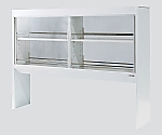 Reagent Shelf All Steel, Double-Sided Type, with Glass Door 900 x 300 x 1115 and others