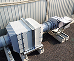 Dry Scrubber Space-Saving Type 12m3/Min 700 x 515 x 500 and others