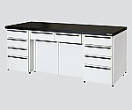 Side Laboratory Bench Steel Unit, Riser Type 1800 x 750 x 800 and others