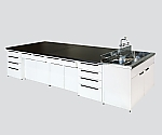 Central Laboratory Bench Steel Unit, Riser Type 2400 x 1200 x 800/930 and others