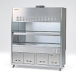 ASSRE Fume Hood Stainless Steel, Working Surface All Sink 1 Tank Type 1200 x 820/750 x 2150 and others