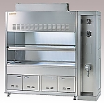 ASSRE Fume Hood Stainless Steel, Explosion-Proof Type 1650 x 820/750 x 2150 and others