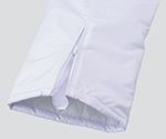 防寒・防水白衣女性用パンツ