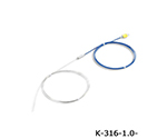 K Sheath Thermocouple (Stainless Steel (SUS316)) 650℃ φ1.0 x 1000mm and others