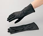 滑り止めが付きビニール手袋 300mm