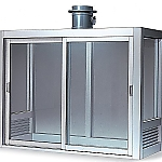 Laboratory Bench Hood Single-Sided Type, Made Of Aluminum Slide Sash Type 1200 x 750 x 1400 and others