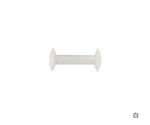 Disk-Shaped Stirring Bar φ7.9 x 36mm White and others