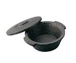Ice Cream Pan, Bucket Black φ275 x 120mm Capacity 2.5L and others