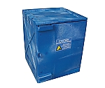 Acid-Proof Cabinet (Assembling Type) Blue 458 x 458 x 559 and others