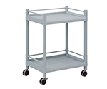 Mobile Storage Cart (With Guard Frame) 2 Stages 651 x 447 x 830 MSO21E