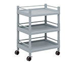 Mobile Storage Cart (With Guard Frame) 3 Stages 651 x 441 x 858 MSO21F