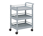 Mobile Storage Cart (Guard Frame, with Handle) 3 Sages 705 x 447 x 920 MSO21H