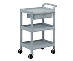 Mobile Storage Cart 3 Sages 598 x 368 x 875 (Including Drawer, Handle) MSO11D