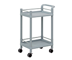 Mobile Storage Cart 2 Stages 610 x 370 x 897 (With Guard Frame And Handle) MSO11G