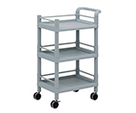 Mobile Storage Cart 3 Sages 610 x 370 x 885 (With Guard Frame And Handle) MSO11H