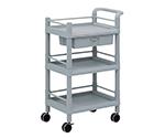 Mobile Storage Cart 3 Sages 610 x 370 x 885 (Including Drawer, Guard Frame, Handle) MSO11J