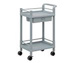 Mobile Storage Cart 2 Stages 610 x 370 x 897 (Including Drawer, Guard Frame, Handle) MSO11K