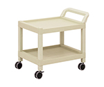Mobile Cart (Rectangular Column Type) 2 Stages 690 x 435 x 620 MC40