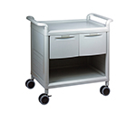 Mobile Store Cart (Storage Case Included) Shallow Type 2 Pieces MS24C
