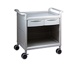 Mobile Store Cart (Storage Case Included) Shallow Type 4 Pieces MS24H