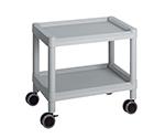 Mobile Cart (Low-Floor Type) 532 x 368 x 500 Gray MC10