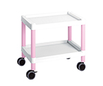 Mobile Cart (Low-Floor Type) 532 x 368 x 500 Pink MC10