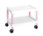 Mobile Cart (Low-Floor Type) 645 x 447 x 492 Pink MC20