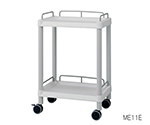 Mobile Easy Cart (With Guard Frame: Gray) 2 Stages 532 x 368 x 819 ME11E