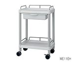 Mobile Easy Cart (Wiith Guard Frame: Gray) 2 Stages 651 x 447 x 810 Wiith Drawer ME21EH