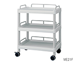 Mobile Easy Cart (Wiith Guard Frame: Gray) 3 Sages 651 x 447 x 830 ME21F