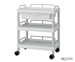 Mobile Easy Cart (Wiith Guard Frame: Gray) 3 Sages 651 x 447 x 830 Wiith Drawer ME21FH