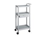 Mobile Easy Cart (Tall Type/Regular 31) Gray 3 Sages Wiith Drawer ME31B