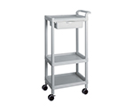 Mobile Easy Cart (Tall Type/Regular 31) Gray 3 Sages Wiith Drawer ME31D