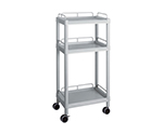 Mobile Easy Cart (Tall Type/Regular 31) Gray 3 Sages Wiith Guard Frame ME31G