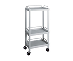 Mobile Easy Cart (Tall Type/Regular 31) Gray 3 Sages Wiith Guard Frame ME31H