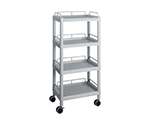 Mobile Easy Cart (Tall Type/Regular 31) Gray 4 Stages Wiith Guard Frame ME31J