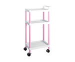 Mobile Easy Cart (Tall Type/Regular 31) Pink 3 Stages ME31A