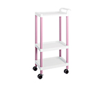 Mobile Easy Cart (Tall Type/Regular 31) Pink 3 Stages ME31C