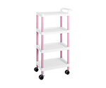 Mobile Easy Cart (Tall Type/Regular 31) Pink 4 Stages ME31E