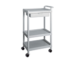 Mobile Easy Cart (Tall Type/Wide 32) Gray 3 Stages Wiith Drawer ME32D